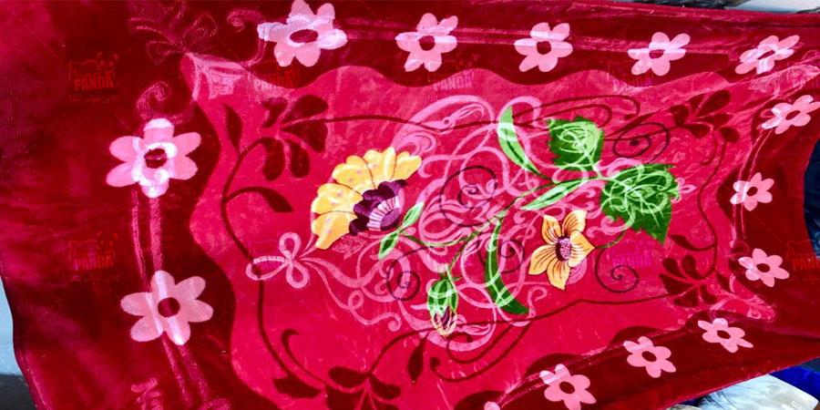 پتو گل برجسته نرمینه