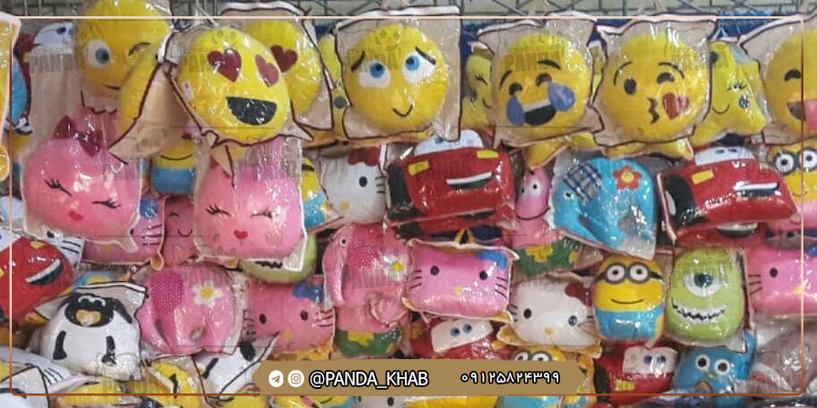 تولیدی بالش ارزان عروسکی