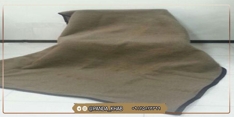 قیمت پتو سربازی ارزان شرکت پاندا